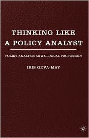 Thinking Like A Policy Analyst - Iris Geva-May