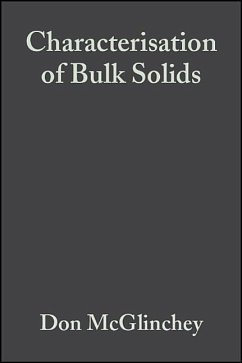 Characterisation of Bulk Solids - McGlinchey, Don