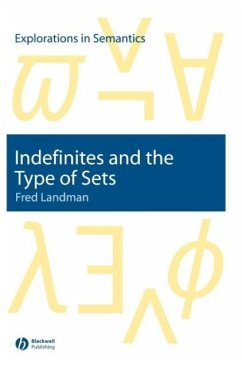 Indefinites and the Type of Sets - Landman, Fred