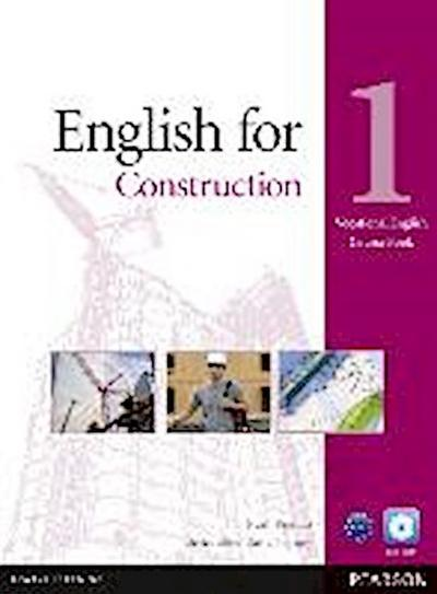 Vocational English Level 1 English for Construction (with CD-ROM incl. Class Audio) - Evan Frendo