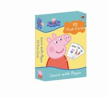 """Peppa pig ; learn with Peppa ; 52 flash cards"""