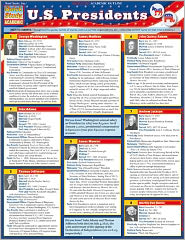 U.S. Presidents (Updated) Laminated Reference Guides