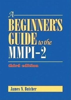 A Beginner's Guide to the MMPI-2 - Butcher, James Neal