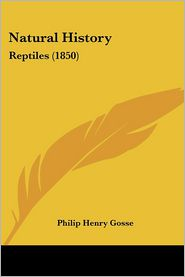 Natural History - Philip Henry Gosse