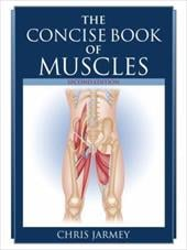 The Concise Book of Muscles - Jarmey, Chris