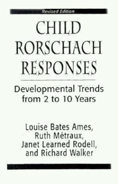 Child Rorschach Responses - Ames, Louise Bates