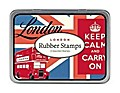 Kleines Stempel Set London
