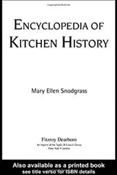 Encyclopedia of Kitchen History - Snodgrass Mary / Snodgrass, Mary Ellen