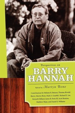 Perspectives on Barry Hannah - Aervold, Thomas