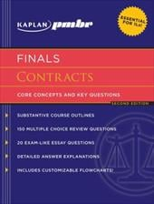 Kaplan PMBR Finals: Contracts: Core Concepts and Key Questions - Hearn, T. Leigh