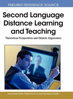 Second Language Distance Learning and Teaching: Theoretical Perspectives and Didactic Ergonomics - Bertin, Jean-Claude Grav', Patrick Narcy-Combes, Jean-Paul