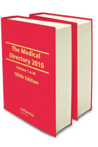 The Medical Directory 2010 - Taylor and Francis