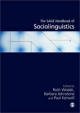 Sage Handbook of Sociolinguistics - Barbara Johnstone; Ruth Wodak; Paul E. Kerswill