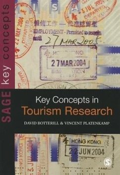 Key Concepts in Tourism Research - Botterill, David Platenkamp, Vincent