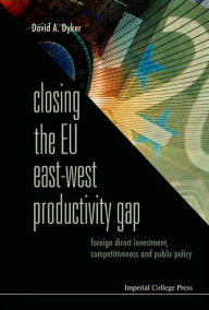 Closing the Eu East-West Productivity Gap: Foreign Direct Investment, Competitiveness and Public Policy - David A Dyker