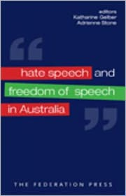 Hate Speech and Freedom of Speech in Australia