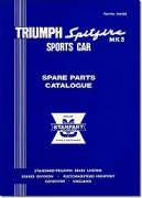 Triumph Spitfire Mk. 3 Sports Car: Spare Parts Catalogue