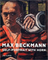 Max Beckmann: Self-Portrait with Horn - Max Beckmann