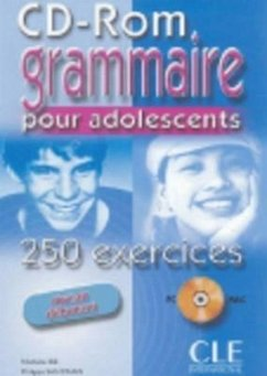Grammaire. 250 Exercices Pour Les Adolescents CD-ROM (Beginner) - Bie Collective