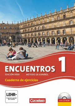 Encuentros 01 Cuaderno de Ejercicios inkl. CD-Extra - Amann, Klaus A.; Steveker, Wolfgang