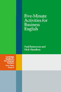 Emmerson, Paul;Hamilton, Nick: Fife-Minute Activities for Business Englisch