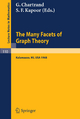 The Many Facets of Graph Theory - G. Chartrand; S. F. Kapoor