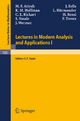 Lectures in Modern Analysis and Applications I - C.T. Taam; M. F. Atiyah; J. Eells; K. M. Hoffman; L. Hörmander; C. E. Rickart; H. Rossi; S. Smale; F. Treves; J. Wermer