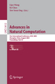 Advances in Natural Computation - Lipo Wang; Ke Chen; Yew Soon Ong