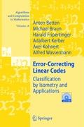 Error-Correcting Linear Codes. Mit CD-ROM