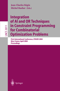 Integration of AI and OR Techniques in Constraint Programming for Combinatorial Optimization Problems