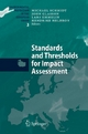 Standards and Thresholds for Impact Assessment - Michael Schmidt; John Glasson; Lars Emmelin; Hendrike Helbron