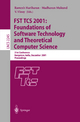 FST TCS 2001: Foundations of Software Technology and Theoretical Computer Science - Ramesh Hariharan; Madhavan Mukund; V. Vinay