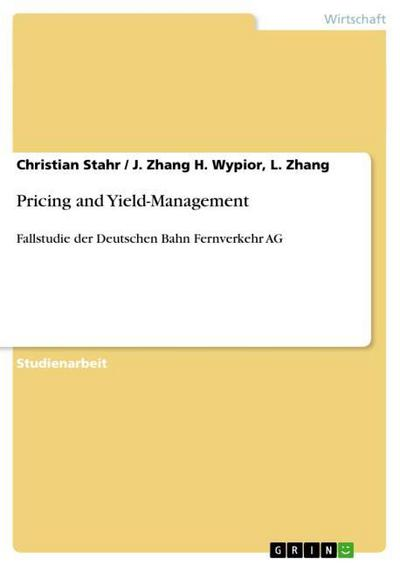 Pricing and Yield-Management - Christian Stahr