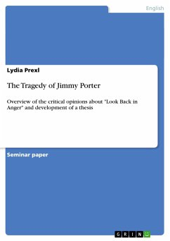 The Tragedy of Jimmy Porter - Prexl, Lydia