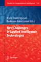 New Challenges in Applied Intelligence Technologies - Radoslaw Katarzyniak