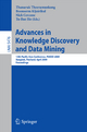 Advances in Knowledge Discovery and Data Mining - Thanaruk Theeramunkong; Boonserm Kijsirikul; Nick Cercone; Tu-Bao Ho