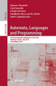 Automata, Languages and Programming - Samson Abramsky; Cyril Gavoille; Claude Kirchner; Friedhelm Meyer auf der Heide; Paul Spirakis
