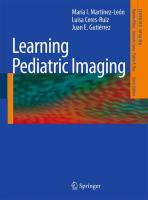 Learning Pediatric Imaging