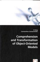 Comprehension and Transformation of Object-Oriented Models - Zi Zeng