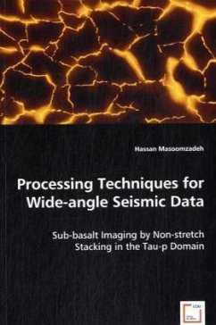 Processing Techniques for Wide-angle Seismic Data - Masoomzadeh, Hassan