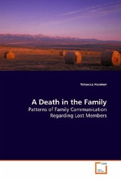A Death in the Family - Hosmer, Rebecca