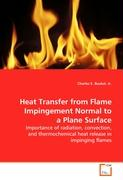 Heat Transfer from Flame Impingement Normal to a Plane Surface