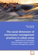 The social dimension of stormwater management practices in urban areas