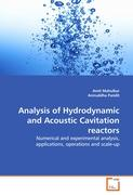 Analysis of Hydrodynamic and Acoustic Cavitation reactors