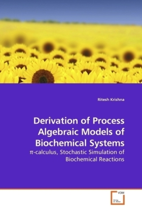 Derivation of Process Algebraic Models of Biochemical Systems - -calculus, Stochastic Simulation of Biochemical Reactions