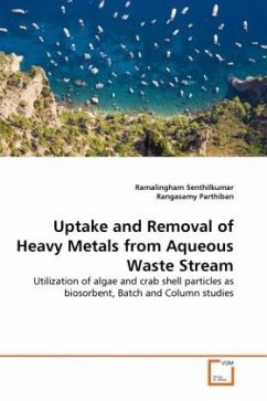 Uptake and Removal of Heavy Metals from Aqueous Waste Stream - Senthilkumar, Ramalingham Parthiban, Rangasamy