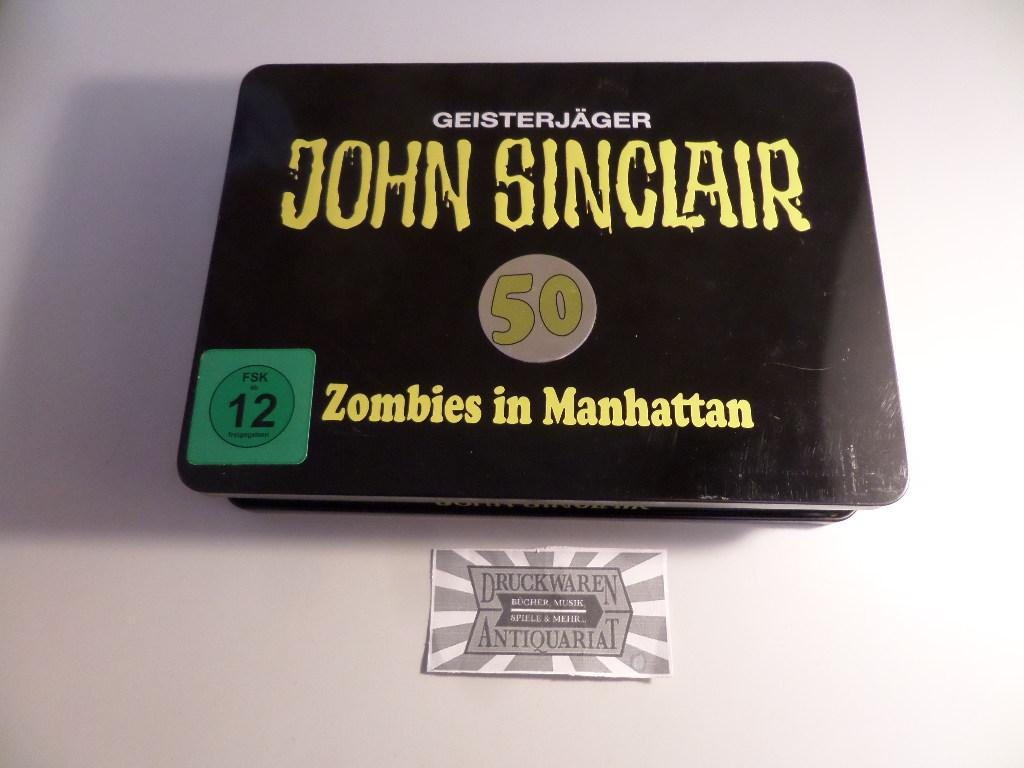 Zombies In Manhatten, Folge 50 (Special Limited Edition, CD+DVD)