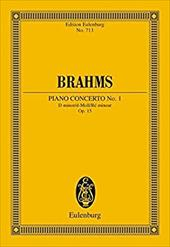 Brahms: Concerto No. 1: For Piano and Orchestra - Brahms, Johannes