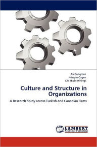 Culture And Structure In Organizations - Ali Dani Man