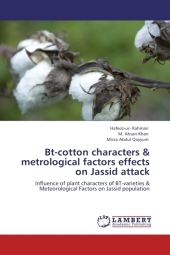 Bt-cotton characters & metrological factors effects on Jassid attack - Hafeez -ur- Rahman